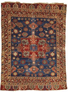 Konya rug, 216 by 173cm