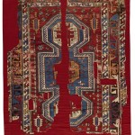 Bergama rug fragments, 167 by 142cm