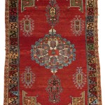 Anatolian rug, 196 by 128cm