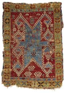 A Konya rug, 197 by 143cm