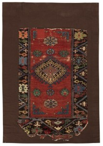 West Anatolian rug fragment, 138 by 86cm