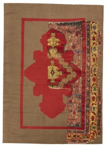 East Anatolian rug fragment, 193 by 86cm