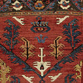 92J6T-A-Karapinar-rug-fragment-Central-Anatolia-275-by-134cm-crop-122x122