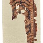 Ushak rug fragment, 145 by 69cm