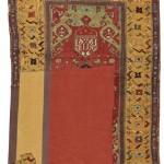A Konya rug fragment, 230 by 148cm