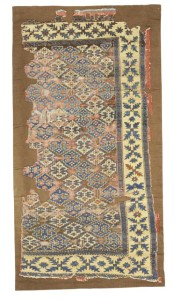 West Anatolian rug fragment, 190 by 101cm