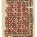 West Anatolian rug fragment, 135 by 98cm