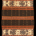 Tapis Cumi Cumi, Abung people, Lampung, Sumatra, Indonesia, 19th century