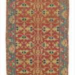 Lot 260, ' Lotto' rug, probably Ushak, West Anatolia, late 16th century. Estimate: £40,000-£60,000