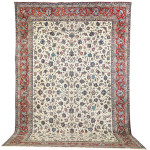 Esfahan carpet, Central Persia. Estimate: £15,000-£20,000