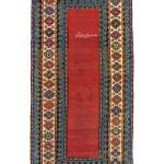 Lot 124, Talish long rug, southeast Caucasus, dated 1876. Estimate: EUR 4,000