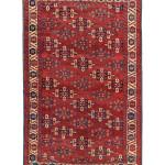 Lot 50, Yomut 'C-göl' main carpet, West Turkestan, early 19th century. Estimate: EUR 5,500
