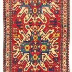 Lot 76, Chelaberd rug, South Caucasus, late 19th century. Estimate: EUR 6,500