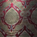 Seraser silk and metal-thread lampas panel (detail), Turkey, 16th century