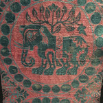 Silk fragment (detail), Sasanid dynasty, Persia, 8th-9th century
