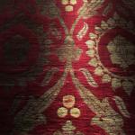 Voided silk velvet with metal thread (detail), Turkey, 16th century