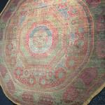 Circular Mamluk carpet, Cairo, Egypt, 16th century