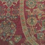 Corner of a circular Cairo carpet, Egypt, 16th century