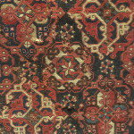Two medallion types on a small-pattern Holbein carpet, west Anatolia, Turkey, 16th century