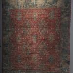 Chessboard carpet, Damascus?, Syria, 16th century