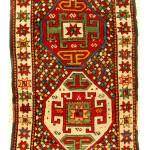 Lot 195, Shahsavan rug, Persia, 19th century. Estimate: €1,200-3,300