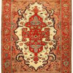 Lot 299, Serapi carpet, northwest Persia, 19th century. Estimate: €17,000-25,000