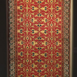 Lotto Rug with open pseudo-kufie border, Western Anatolia, first half of the 16th century