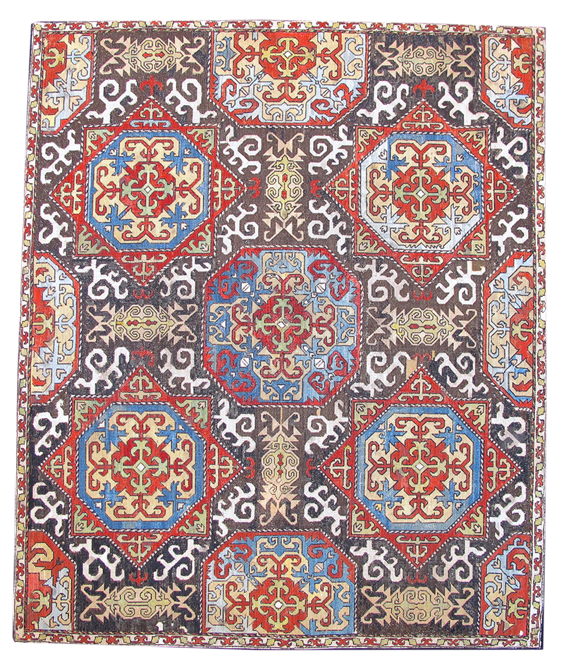 antique rugs at nyics - hali Antique Rugs