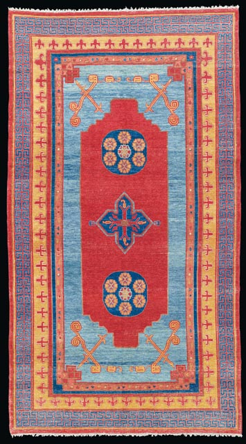 Lot 90 A Khotan Carpet Second Half 18th Century 40 000 60 Property From Private German Collector Oriental Rugs And Carpets King Street