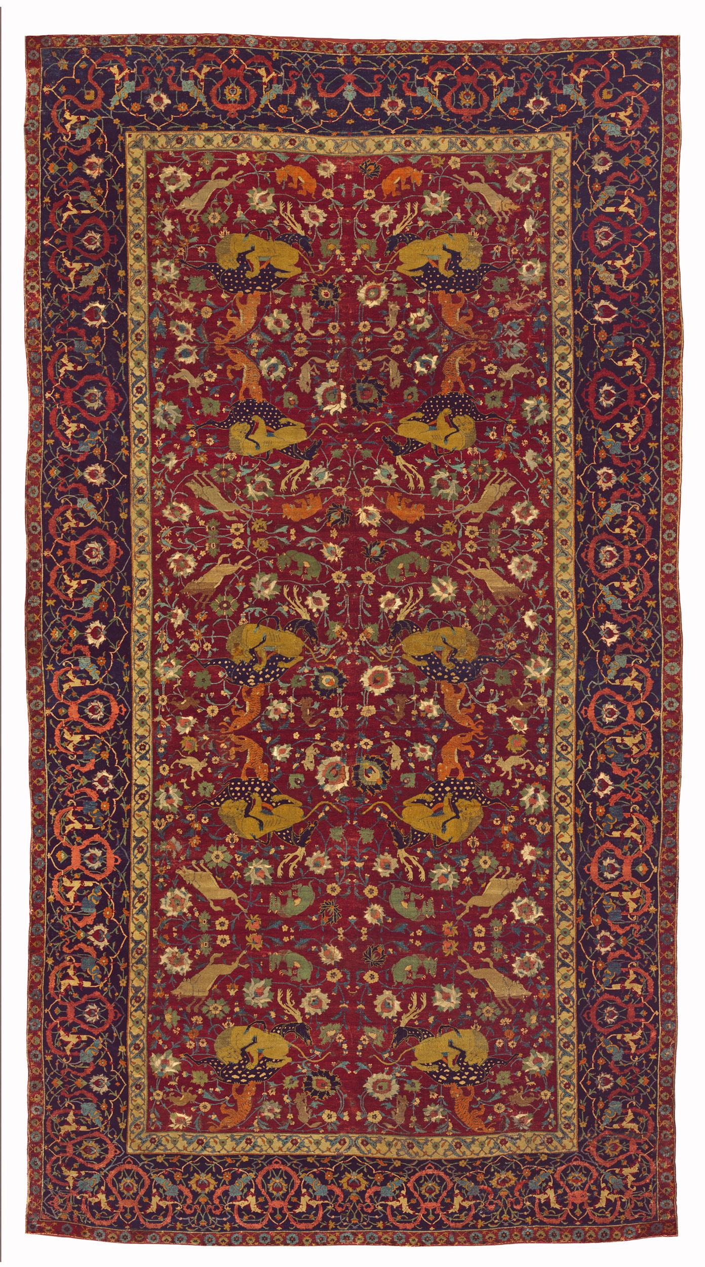 Carpets And Islamic Art At The Mia Doha Hali