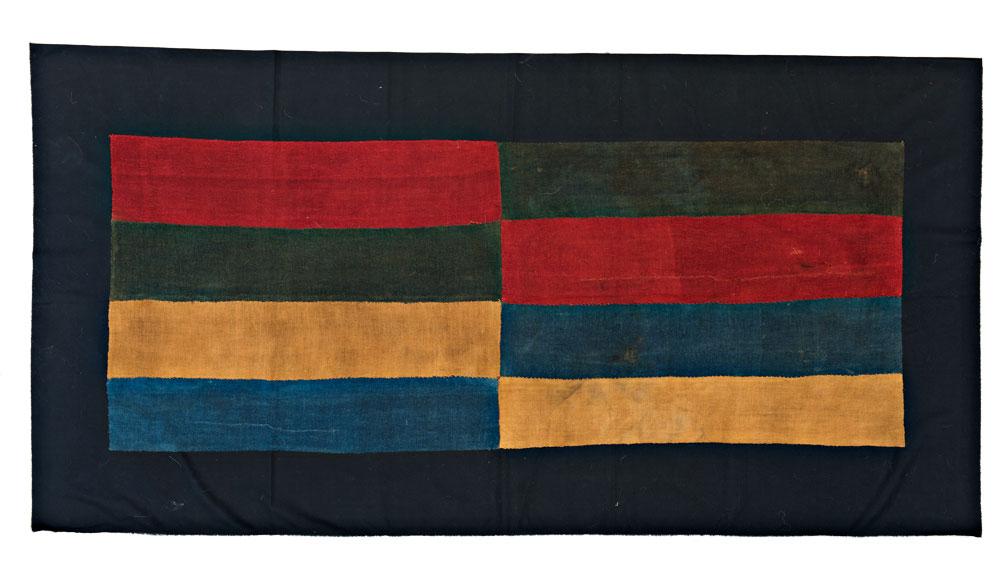 Lot 72, Nazca textile, ca. 300 A.D., Peru, Theo Haeberli private collection, €17,000