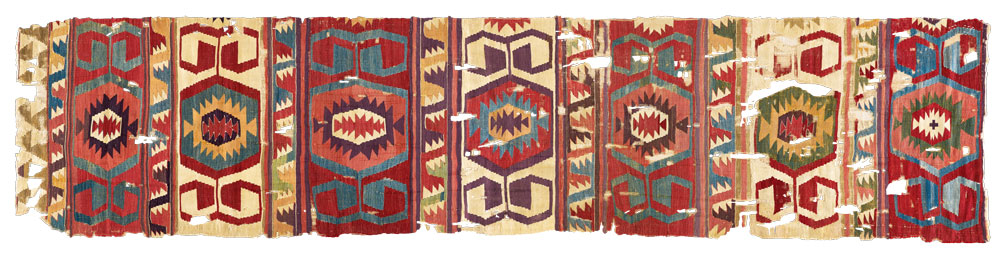 Central Anatolian kilim, second half 18th century, The Megalli Collection.