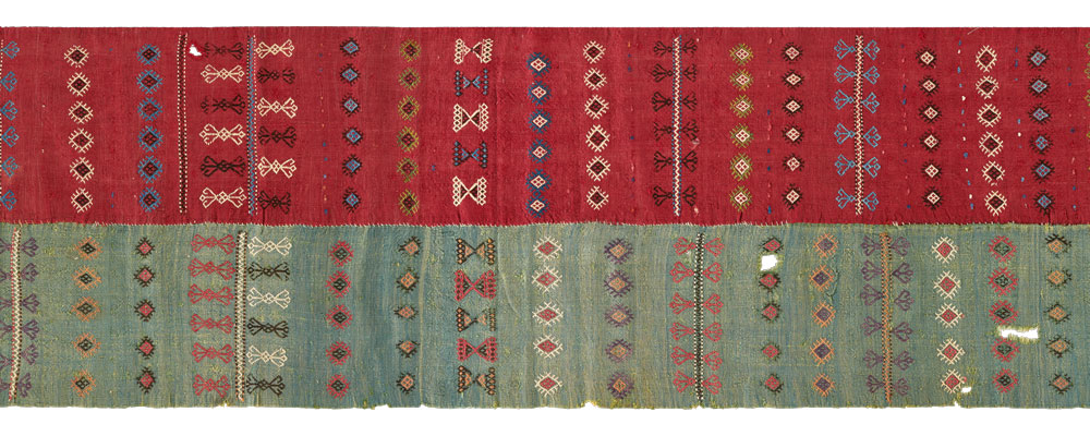 Central Anatolian kilim, first half 19th century, The Megalli Collection.