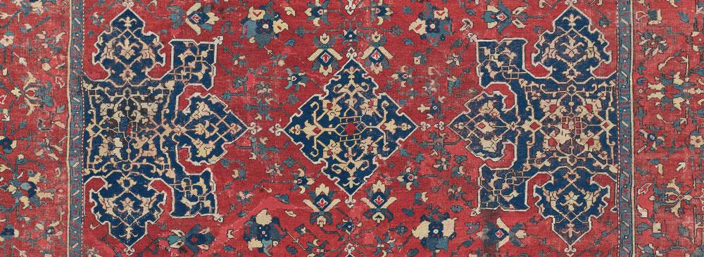 Lot 306, A 'Star' Ushak carpet, west Anatolia, Late 16th century
