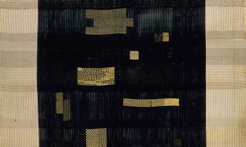 Room 4, Ancient Writing (detail), 1936, 1.505 x 1.118 m. Anni Albers, Tate Modern