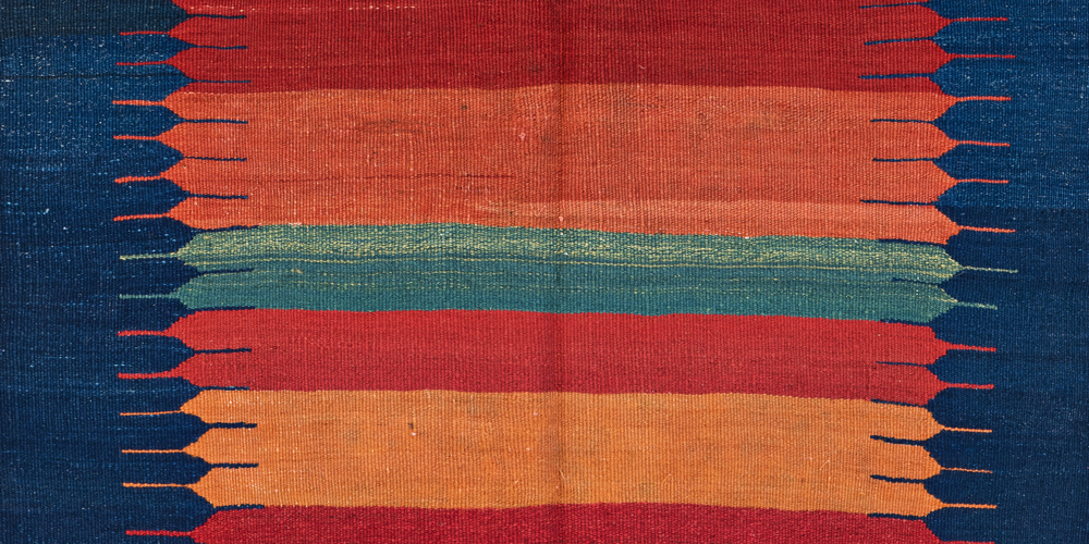 Lot 170, Kamu Sofreh (detail), Persia, ca. 1930. Theo Häberli private collection. Estimate: €500 - 800.