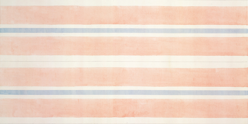 Affection, Agnes Martin, 2001, acrylic and graphite on canvas, 1.524 x 1.524 m. From The Collection Of Laura Arrillaga- Andreessen