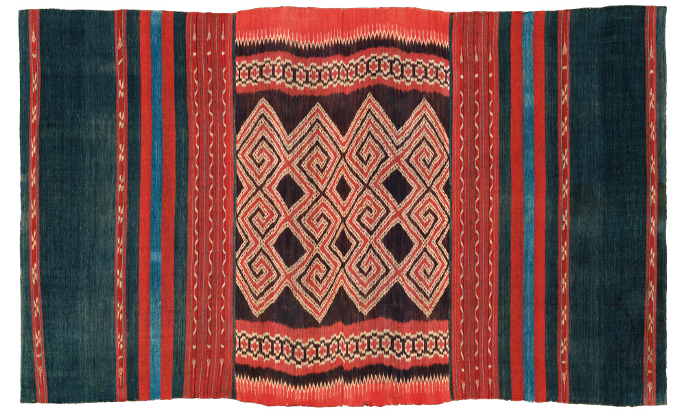 Toraja textile belonging to Thomas Murray