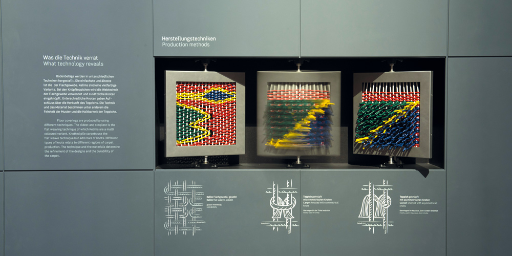 View of the production methods at the Museum of Islamic Art in Berlin