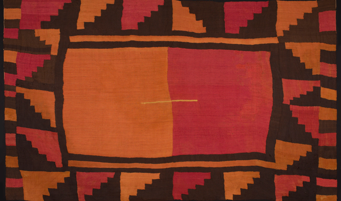 Tunic (Cushma) (detail), Wari culture, Southern Andes, alpaca wool, c800 AD, 2.51 x 1.55 m. Paul Hughes Collection